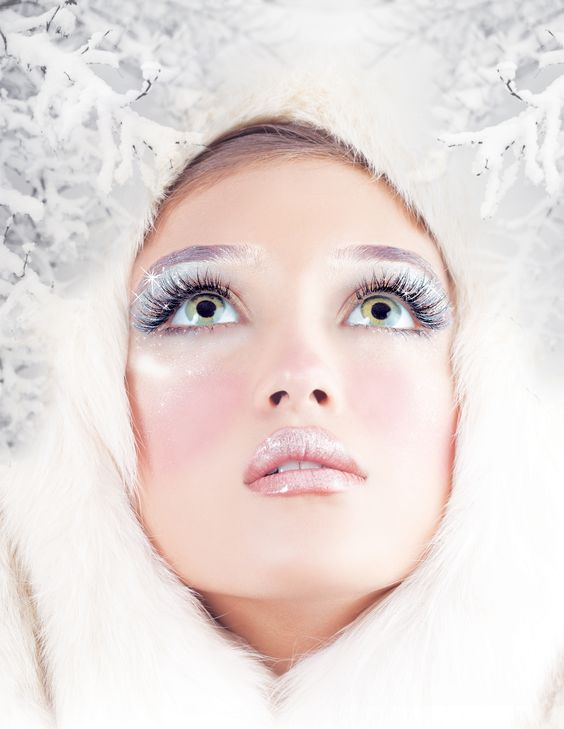 christmas lashes