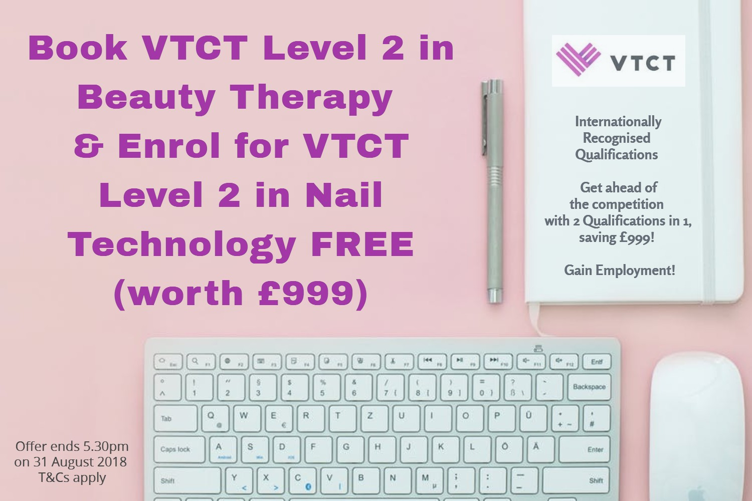 In Nail Technology Course Worth GBP999